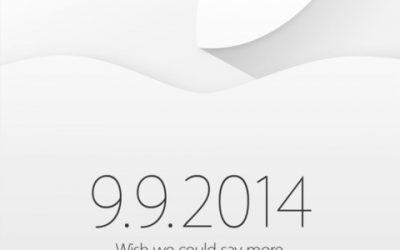 Nova Keynote pel 9 de setembre de 2014