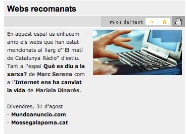 mossegalapoma a Catalunya Ràdio