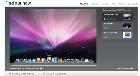 Find Out How by Apple about Mac OS X Leopard