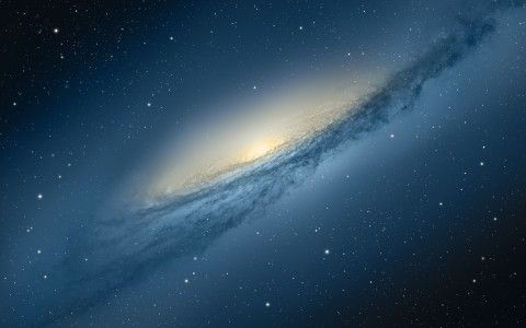 "fons de pantalla ""galaxy"" de Mountain Lion"