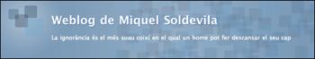 Weblog de Miquel Soldevila