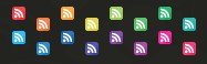 icons rss