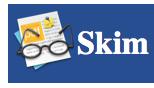 Skim lector i editor de PDFs