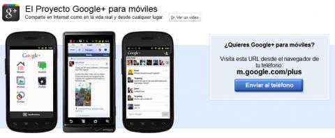 App per Google+