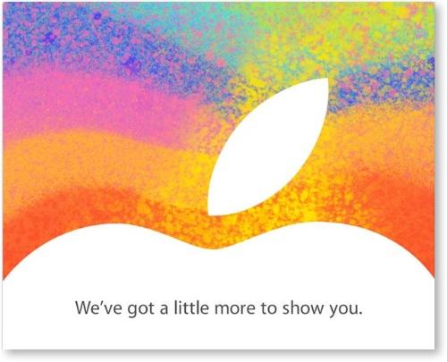 Esdeveniment Apple 23 octubre 2012 - iPad Mini