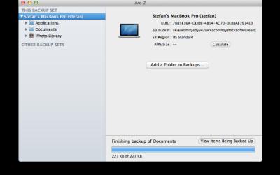 Arq – còpies de seguretat econòmiques del teu Mac al núvol