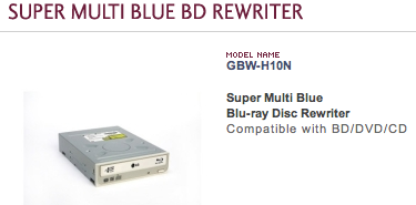 Blue-ray LG