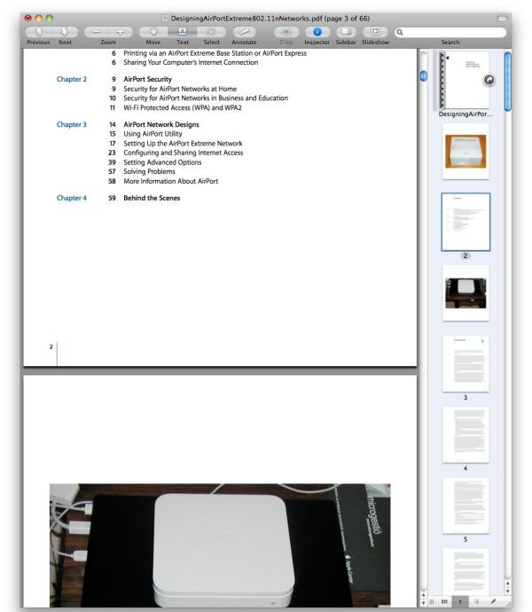 Composa PDF amb Preview