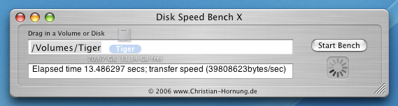 Disk Speed Bench X