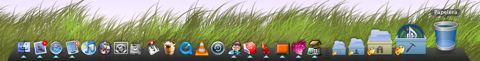 Dock canviat per Candybar