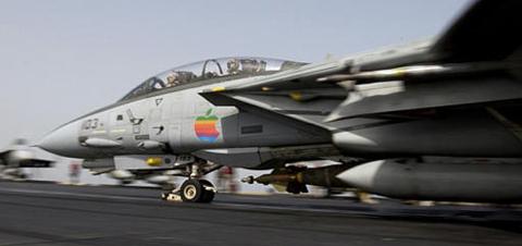 enganxina apple en F18