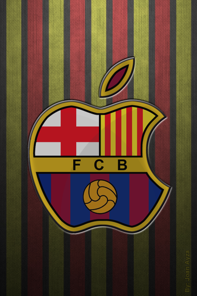 Fons de Pantalla Barça per iPhone
