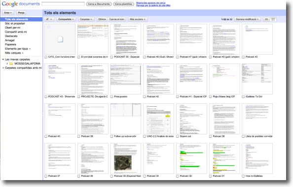Google Docs Exemple