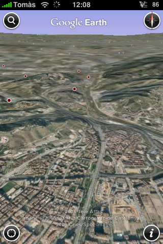google earth iphone 1