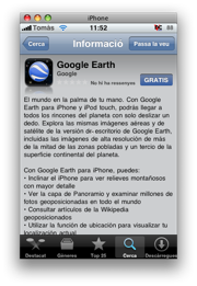 google earth iphone 2