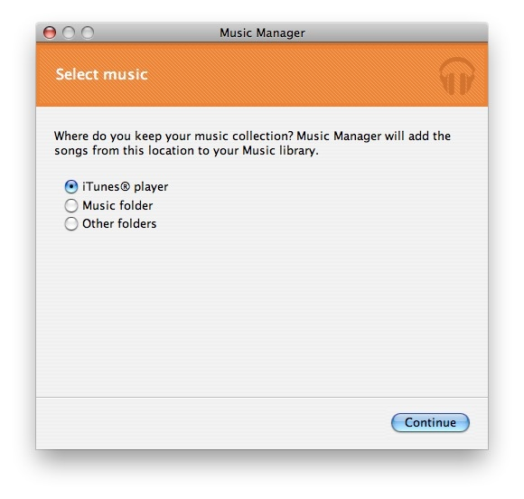 Google Music Beta - Music Manager