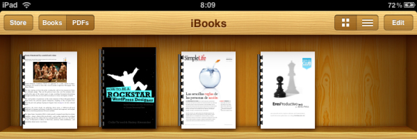 iBook iPad