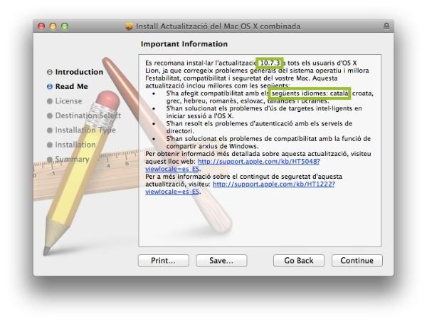 instal 10.7.3 en català