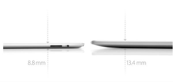 iPad2 versus iPad1