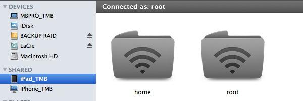 iPad access via Netatalk