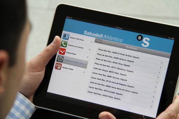 Banc Sabadell iPad App
