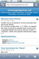 mossegalapoma dins un iphone