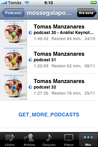 iphone podcast