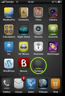 iphone terminal