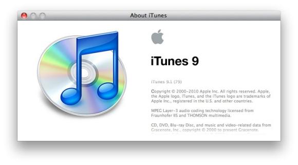 iTunes 9.1