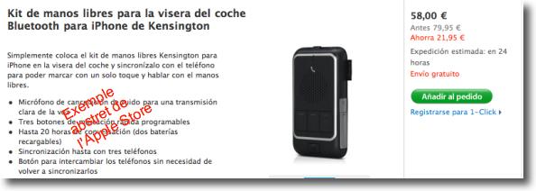 kit kesington oferta a l'Apple Store