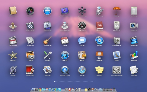 Lounchpad - Mac OS X Lion