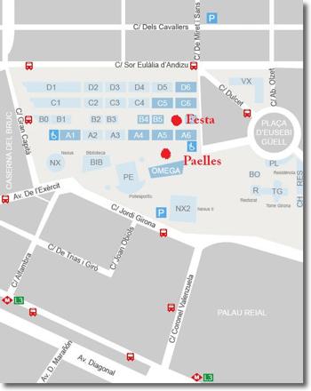 mapa festa FIB