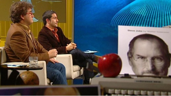 Marc Alier al programa Millenium parlant d'Steve Jobs