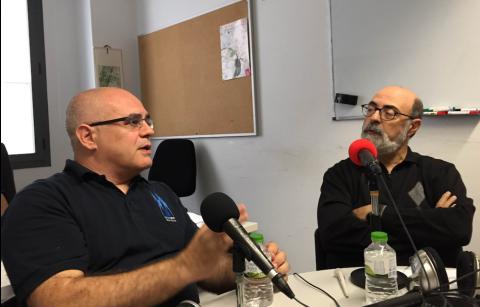 Jordi Delgado i Miquel Barceló a mossegalapoma