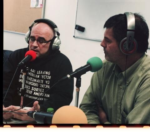 Jordi Delgado i Jordi Iparraguirre a mossegalapoma