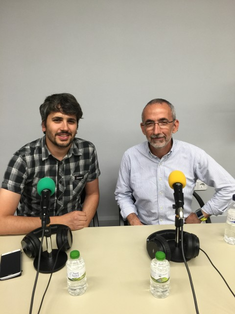 Fede Luque i Carles Caño
