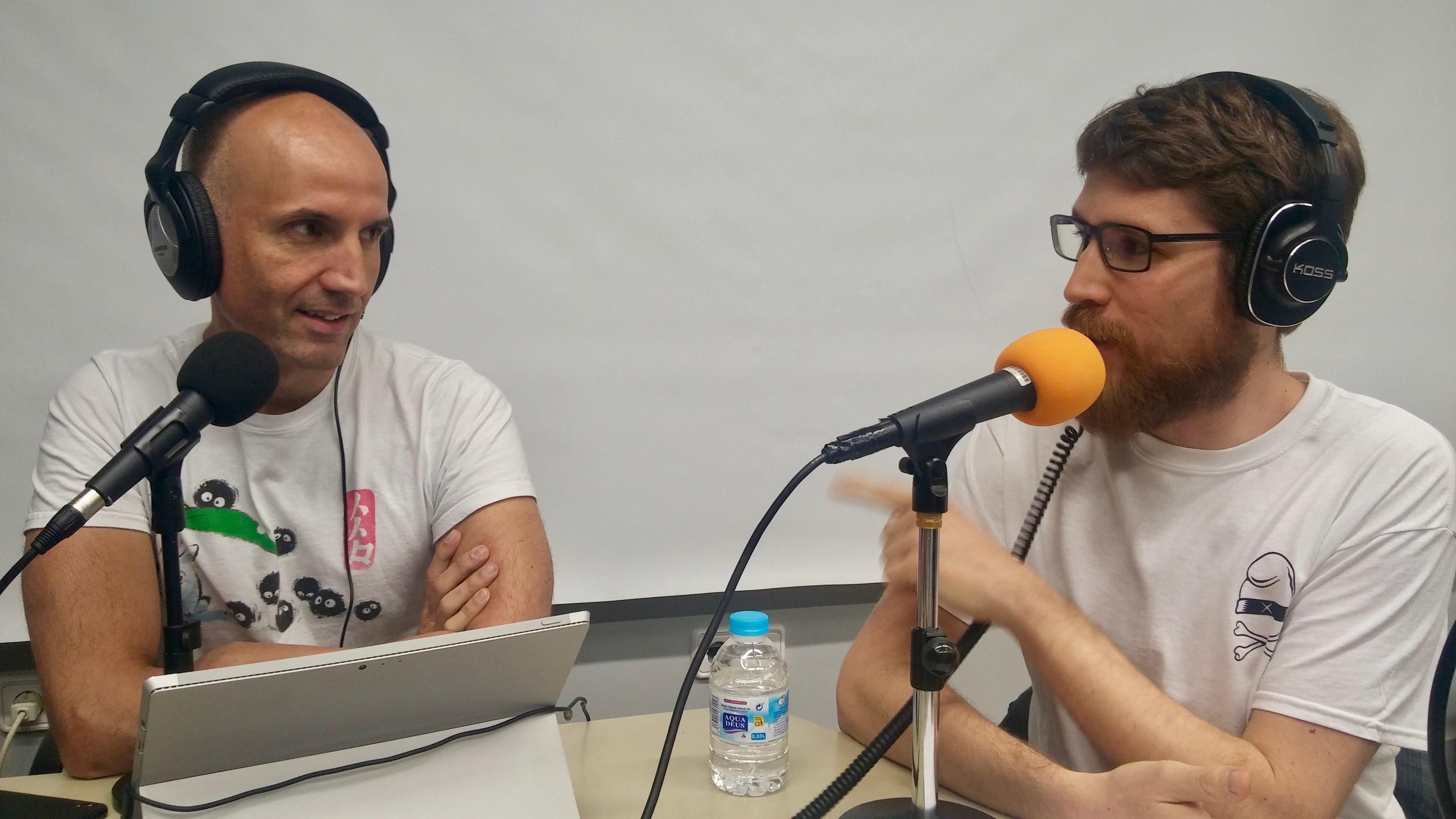 Javi Moreno i Pau Puig