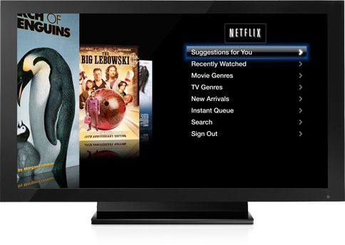 Netflix a l'Apple TV 2