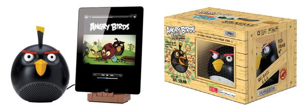 Altaveus d'Angry Birds amb Los Panda