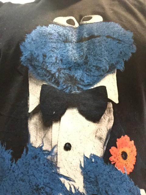 samarreta ludo - monstre galetes amb smoking