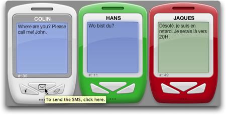 sms mac widget