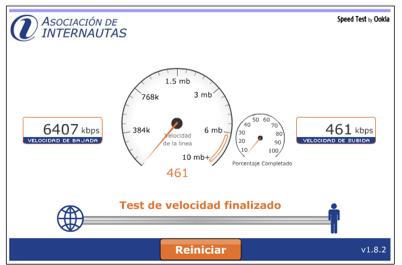 speedtest internautas.org