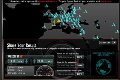 speedtest speedtest.net