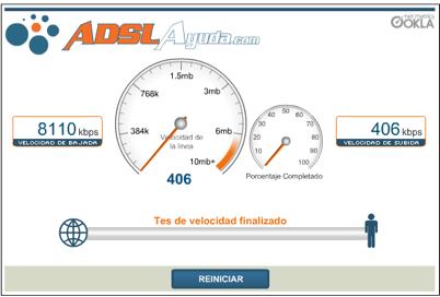 speedtest adslayuda.com