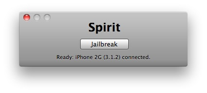 Spirit en un iPhone 2G