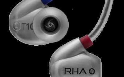 """Auriculars d'alta qualitat """"in-ear"""" T10i de RHA"""