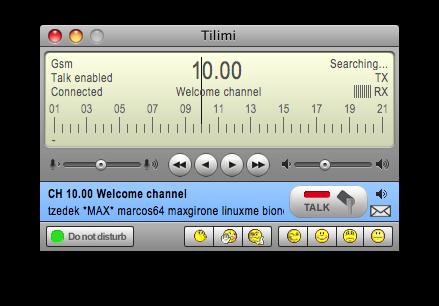 Tilimi per Mac OS X