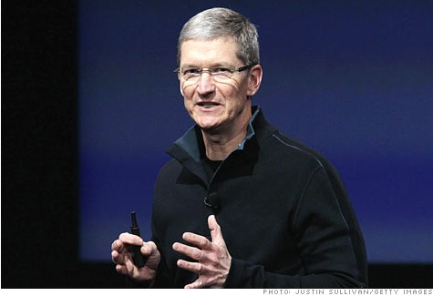 Tim Cook nou CEO d'Apple