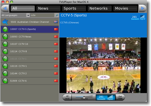 TVUPlayer for Mac