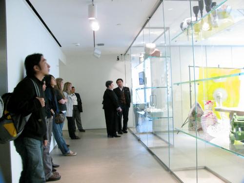 visitors museum